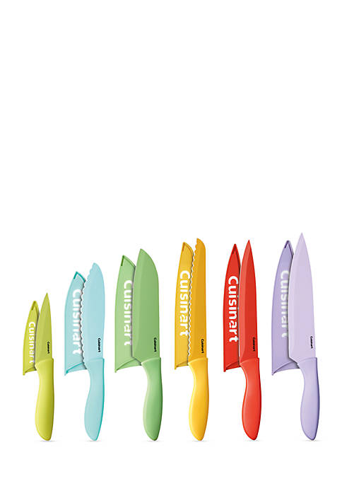 12-Piece Ceramic Color Knife Set