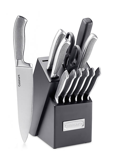 Cuisinart 13-Piece Stainless Steel Cutlery Block Set