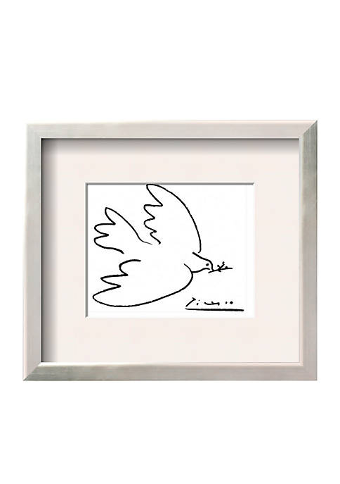 Art.com Dove of Peace, Framed Art Print,