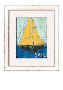 art com sail by melissa lyons framed art print belk