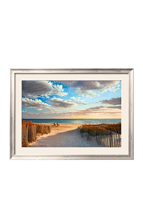 Art.com Sunset Beach Framed Art Print Online Only