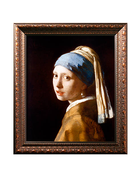 Art.com Girl With a Pearl Earring (2003) Framed