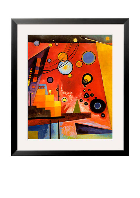 Art.com Heavy Red Framed Art Print