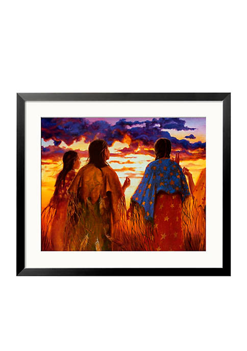 Art.com Dancing Til Dawn Framed Art Print