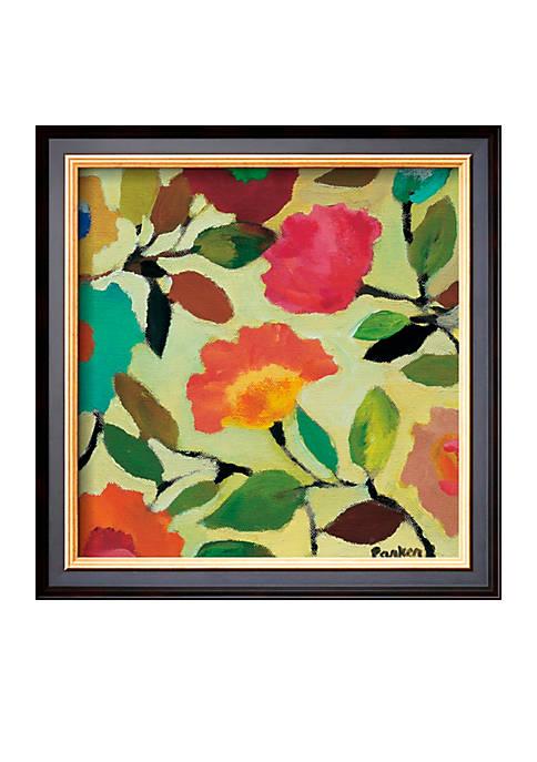 Art.com Floral Title IV Framed Art Print