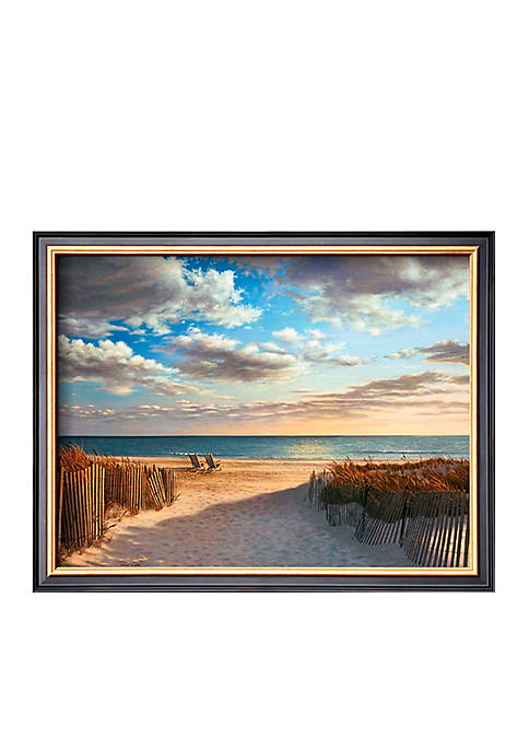 Art.com Sunset Beach, Framed Art Print
