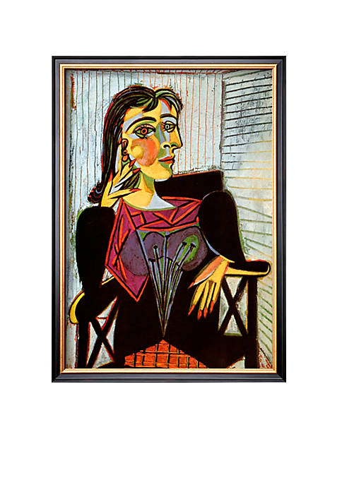 Art.com Portriat of Dora Maar, c. 1937 Framed