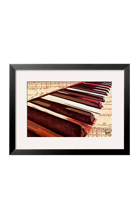 Art.com Ebony and Ivory Framed Art Print