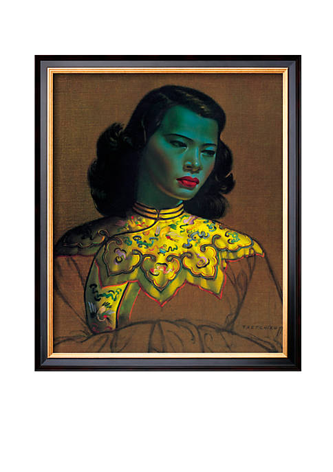 Art.com Chinese Girl Framed Giclee Print Online Only
