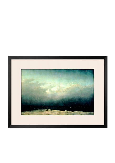 Art.com Monk by Sea, 1809 Framed Giclee Print