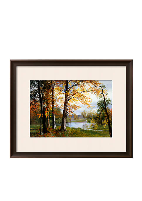 Art.com A Quiet Lake Framed Giclee Print