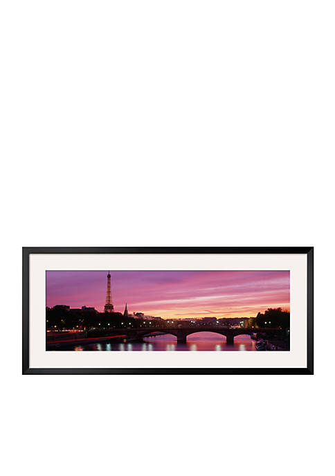Art.com Sunset, Romantic City, Eiffel Tower, Paris, France