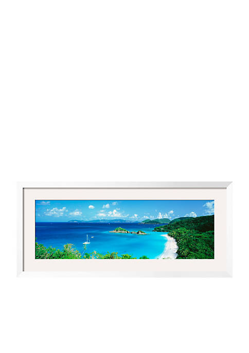 Art.com Ocean, Beach, Water, Trunk Bay, St. John,