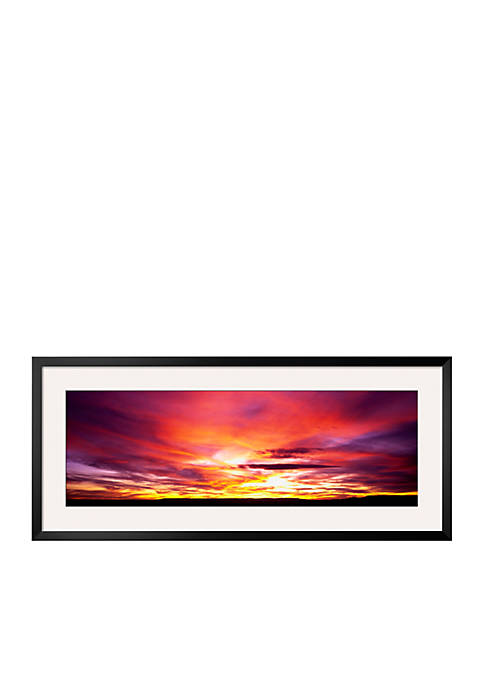 Art.com Sunset, Canyon de Chelly, Arizona, USA Framed