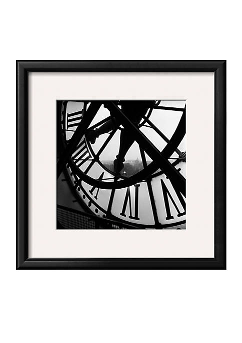 Art.com Orsay Clock, Framed Art Print