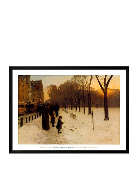 Art.com Boston Common at Twilight, 1885-86 Framed Art