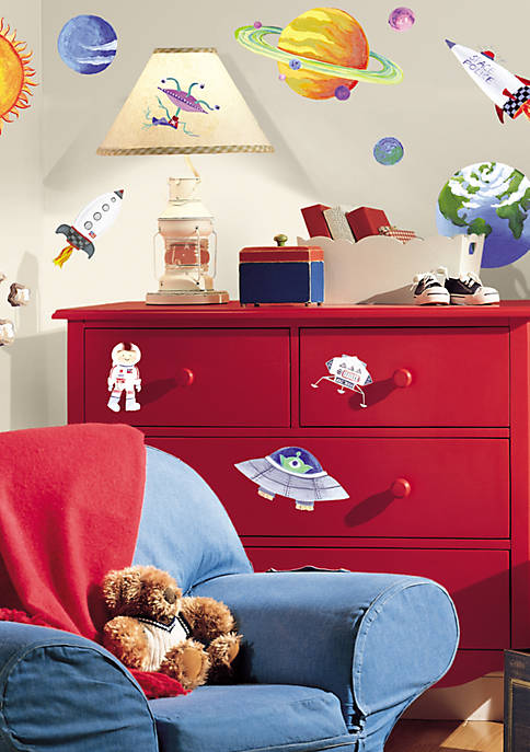 Art.com Outer Space Peel & Stick Wall Decals,