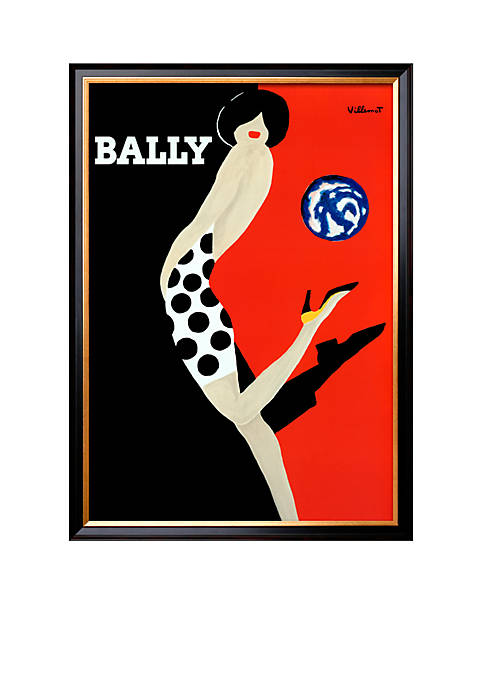 Art.com Bally by Bernard Villemot, Framed Art Print