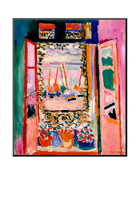 Art.com Open Window, Collioure, 1905, Wood Mount