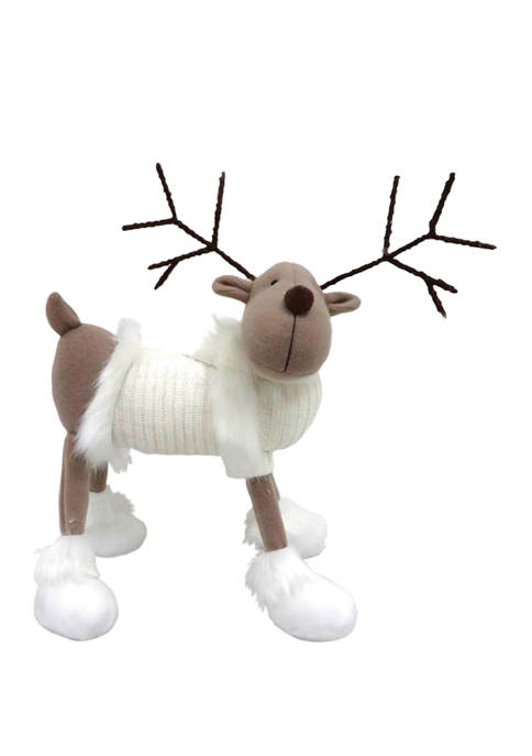 Reindeer in White Sweater