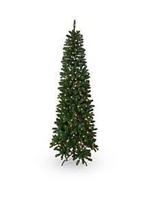 Slim Pre-Lit Tree