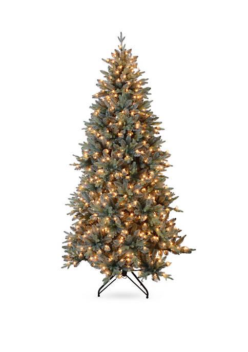 Santa's Workshop 7.5 ft Blue Spruce Tree