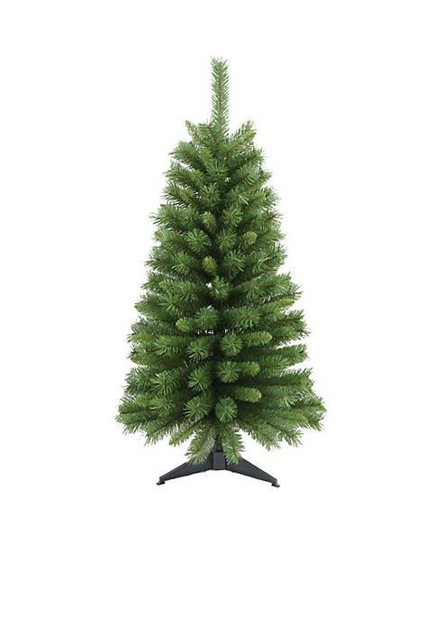 Santa's Workshop Canadian Pine Tree