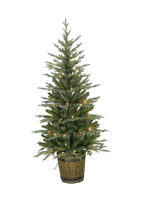 Santa's Workshop 5-Foot Potted Tree