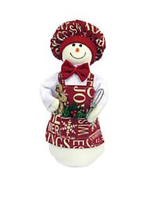 Baking Snowman