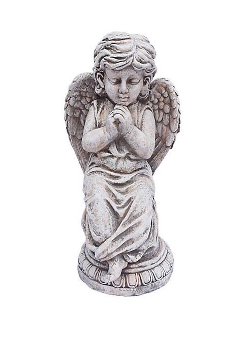 Santa's Workshop 27.5 in Praying Angel Statue