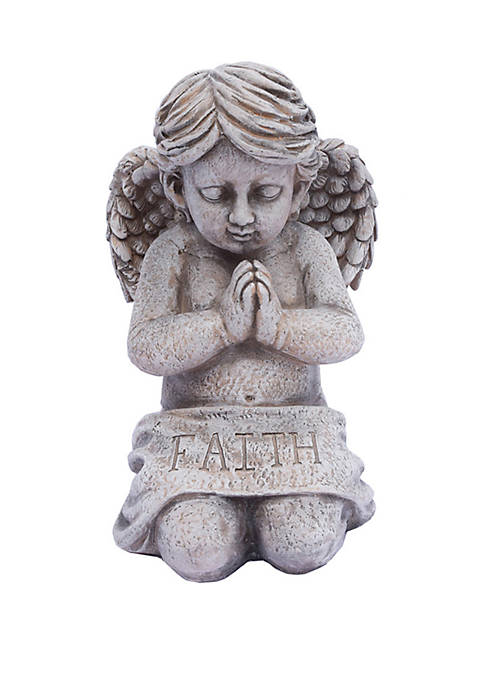 19 in Kneeling Faith Statue