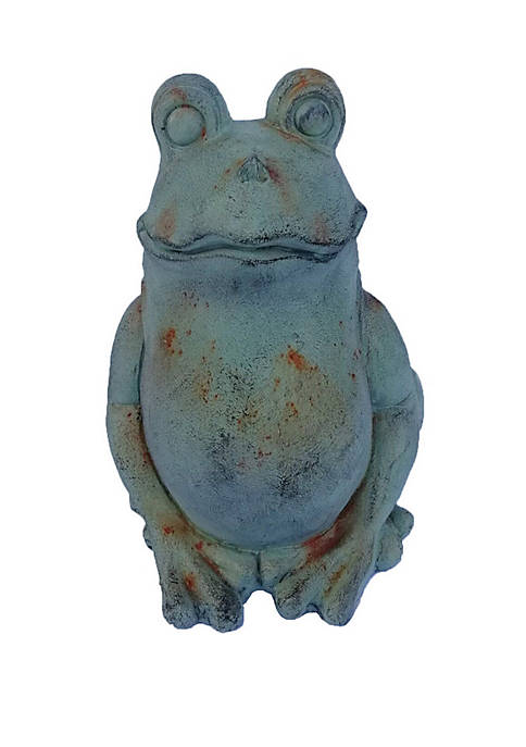 14 in Sitting Frog