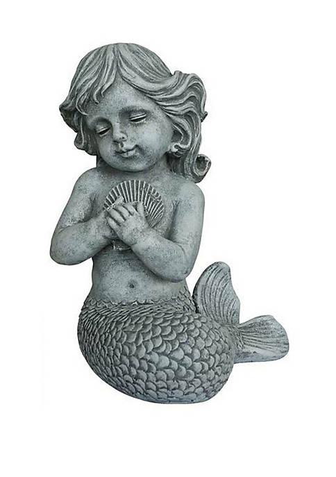 Santa's Workshop 13 in Mermaid Statue