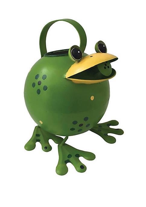 9.5 in Frog Birdfeeder