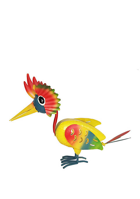 Santa's Workshop 12 in Yellow Jungle Bird Figurine