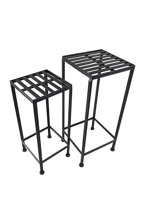 Black Nested Plant Stands