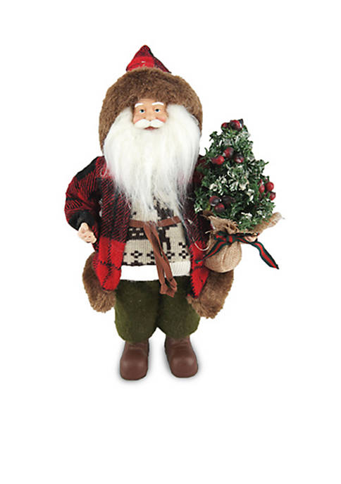 Santa's Workshop 12-Inch Woodman Santa