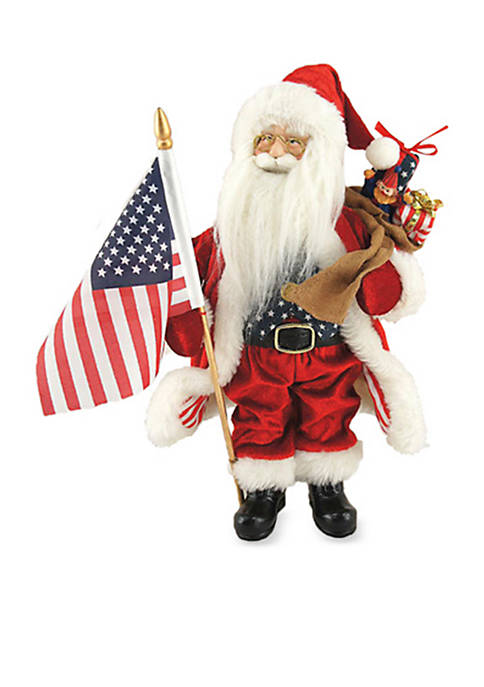 Santa's Workshop 12-Inch Americana Santa