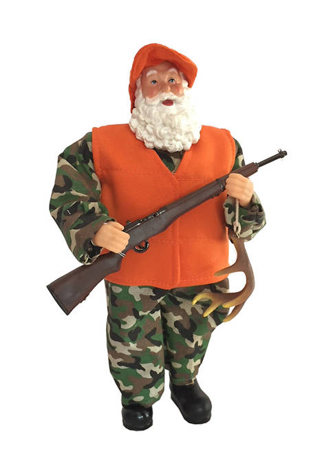 Santa's Workshop 12 Inch Deer Hunter Santa