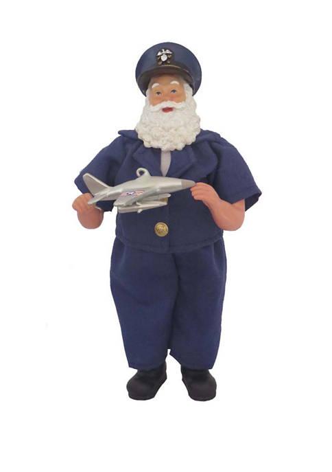Santa's Workshop 12 inch Air Force Santa