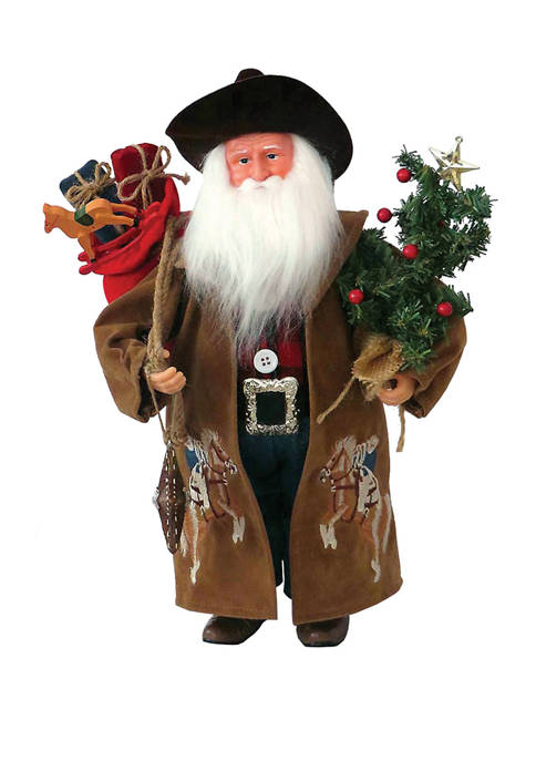 Santa's Workshop 15 Inch Ridem Cowboy
