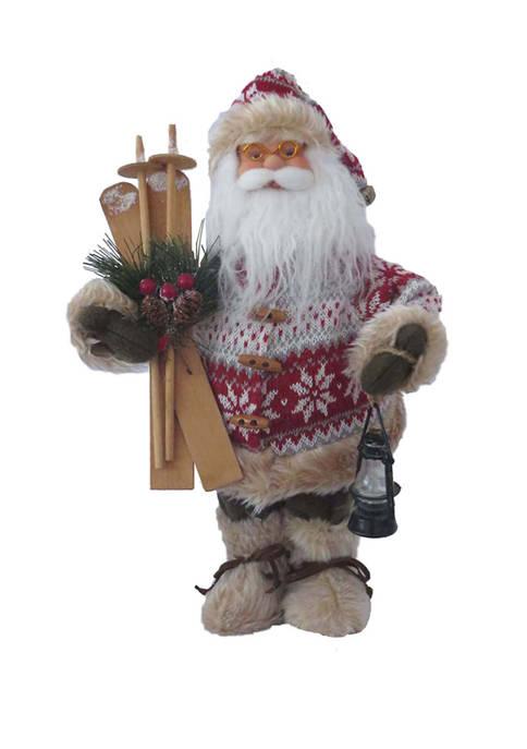 Santa's Workshop 15 Inch Bundled to Ski Clause