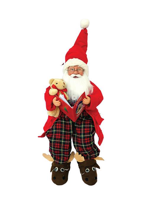 Santa's Workshop 18 Inch Story Time Pajama Claus