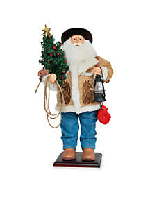 24-in. Home on the Range Santa - Online Only