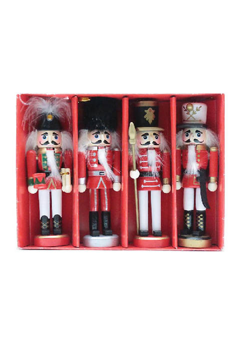 Santa's Workshop 5 Inch Nutcracker Ornaments