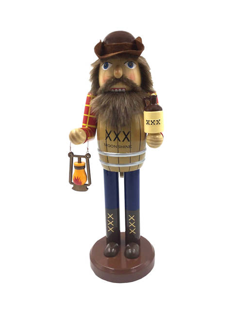Santa's Workshop 14 Inch Moonshiner at Night Nutcracker