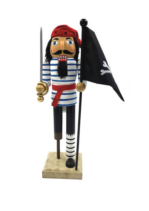 Santa's Workshop 14 Inch Peg Leg Pirate with
