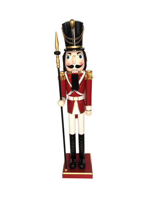 Santa's Workshop 60 Inch Red Soldier Nutcracker