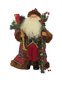 Christmas Plaid Santa
