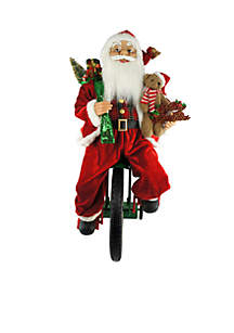 Animated Tricycle Santa